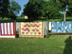 Springtime means that its time to air out those quilts!